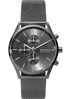 Швейцарские наручные мужские часы Skagen SKW6608. Коллекция Mesh