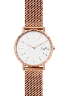 Швейцарские наручные женские часы Skagen SKW2784. Коллекция Mesh