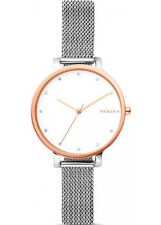 Швейцарские наручные женские часы Skagen SKW2662. Коллекция Mesh