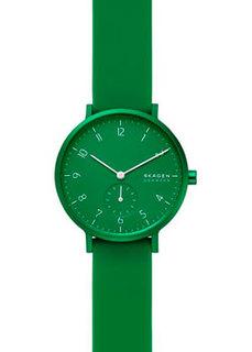 Швейцарские наручные мужские часы Skagen SKW2804. Коллекция Rubber