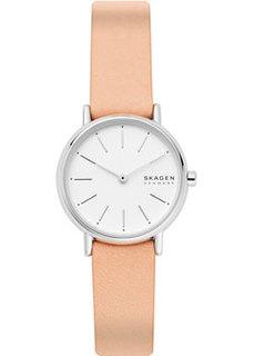 Швейцарские наручные женские часы Skagen SKW2839. Коллекция Leather