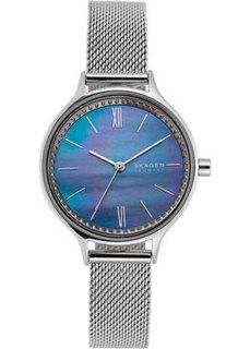 Швейцарские наручные женские часы Skagen SKW2862. Коллекция Mesh