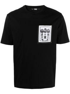 Karl Lagerfeld футболка K/Maison с накладным карманом