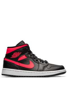 Jordan кроссовки Air Jordan 1 Mid Siren Red