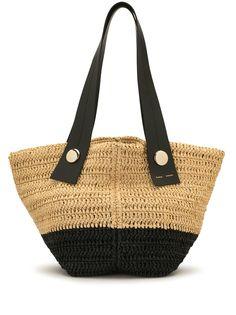 Proenza Schouler маленькая сумка-тоут Tobo из рафии
