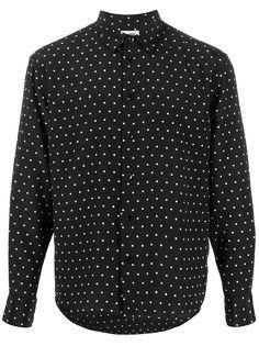 Saint Laurent рубашка в горох