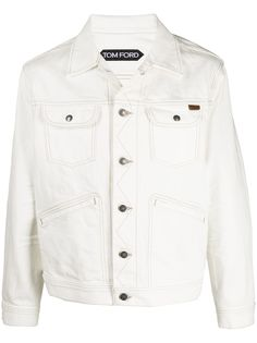TOM FORD джинсовая куртка-рубашка