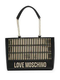 Love Moschino сумка-тоут с аппликацией