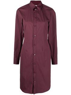 Bottega Veneta платье-рубашка на пуговицах