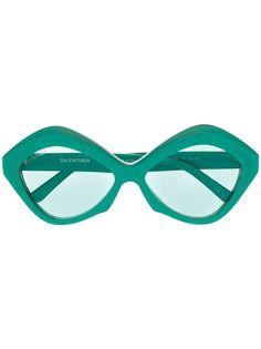 Balenciaga Eyewear солнцезащитные очки Dynasty в геометричной оправе