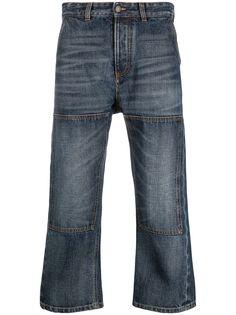 Paura укороченные джинсы широкого кроя