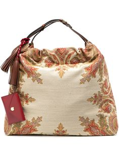 Etro сумка-тоут с принтом пейсли