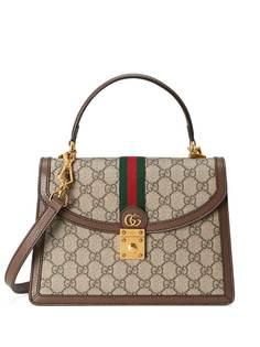 Gucci маленькая сумка Ophidia с отделкой Web
