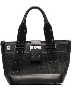 Christian Dior сумка-тоут Street Chic MM 2002-го года