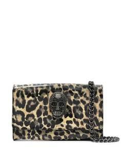 Philipp Plein сумка на плечо с леопардовым принтом
