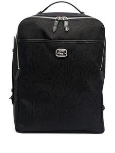 Etro рюкзак с принтом пейсли