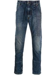 Diesel джинсы с эффектом потертости