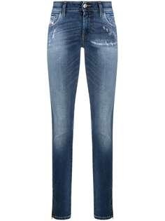 Diesel джинсы скинни с эффектом потертости