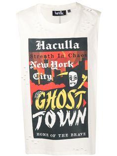 Haculla футболка Ghost Town без рукавов