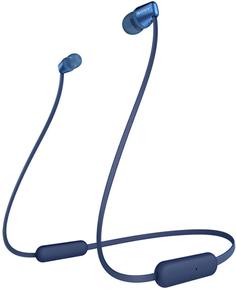 Беспроводные наушники с микрофоном Sony WI-C310 Blue