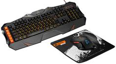 Игровой набор Canyon Leonof клавиатура + мышь + коврик (CND-SGS01-RU)