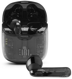 Беспроводные наушники с микрофоном JBL JBLT225TWSGHOSTBLK