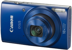 Цифровой фотоаппарат Canon Ixus 190 Blue (1800C001AA)