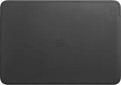 "Чехол для ноутбука Apple Leather Sleeve для MacBook Pro 16"" Black (MWVA2ZM/A)"