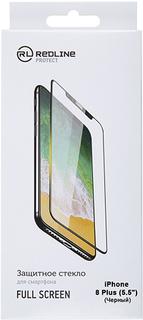 Защитное стекло Red Line для iPhone 8 Plus Black (УТ000012646)