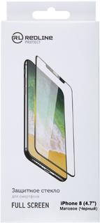 Защитное стекло Red Line для iPhone 8 Black (УТ000012638)