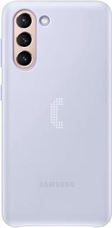 Чехол Samsung Smart LED Cover для S21 Violet (EF-KG991CVEGRU)