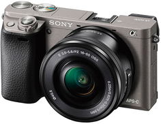 Системный фотоаппарат Sony Alpha 6000 16-50 Kit Graphite (ILCE-6000L/H)