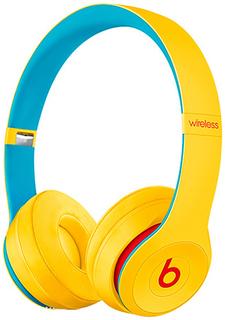 Беспроводные наушники с микрофоном Beats Solo3 Wireless Club Yellow (MV8U2EE/A)