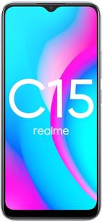 Смартфон Realme C15 4+64GB Seagull Silver (RMX2180)