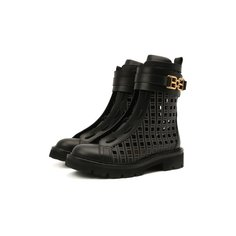 Кожаные ботинки Glaris Bally