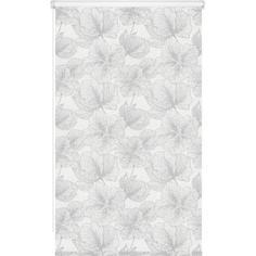 Штора рулонная Nature Китайская роза 50x160 см серая