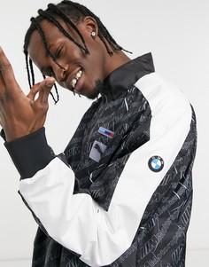Черная куртка PUMA BMW MMS Street-Черный цвет