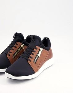 Черные кроссовки Aldo caderuschi-Черный цвет