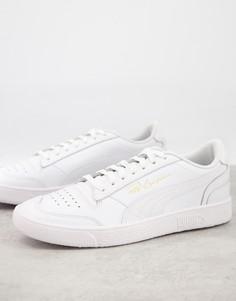 Белые кроссовки Puma Ralph Sampson Lo-Белый