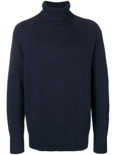 Calvin Klein приталенный свитер с высоким воротом