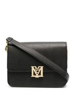 MCM сумка через плечо Mena с логотипом Visetos