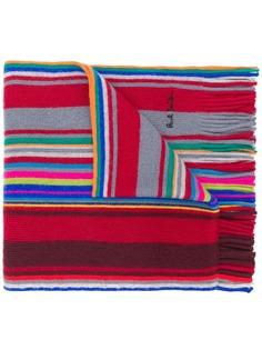 Paul Smith вязаный шарф с полосками
