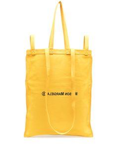 MM6 Maison Margiela большая сумка-тоут с логотипом
