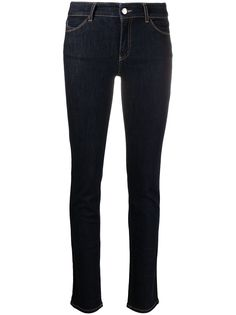 Emporio Armani джинсы скинни с завышенной талией
