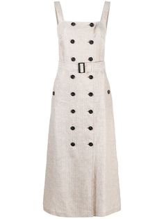 12 STOREEZ платье на пуговицах