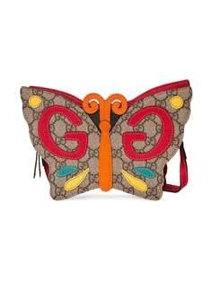 Gucci Kids сумка из канваса с логотипом GG