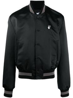 Off-White куртка-бомбер с логотипом