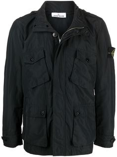 Stone Island легкая куртка с карманами