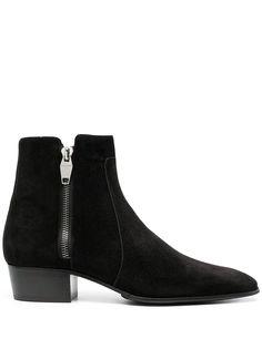 Balmain ботинки на блочном каблуке