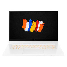"""Ноутбук-трансформер ACER ConceptD 3 Ezel Pro CC315-72P-79A1, 15.6"""", IPS, Intel Core i7 10750H 2.6ГГц, 16ГБ, 1ТБ SSD, NVIDIA GeForce T1000 - 4096 Мб, Windows 10 Professional, NX.C5QER.001, белый"""